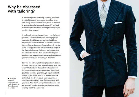 Obsessions: Tailoring By Simon Crompton Accessories Permanent Style