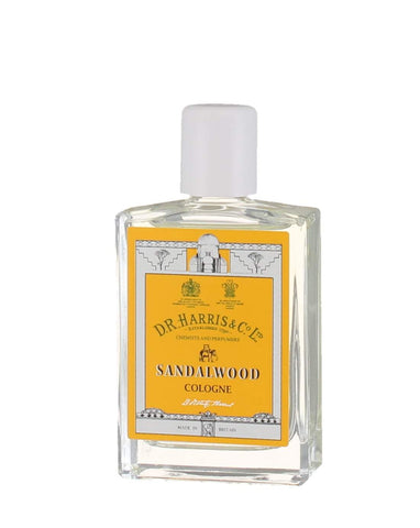 D. R. Harris Sandalwood Cologne (30ml) Accessories D R Harris
