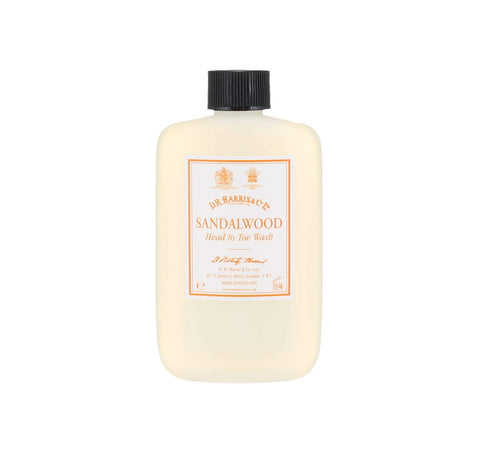 D. R. Harris Sandalwool Head To Toe Wash (100ml) Accessories D R Harris