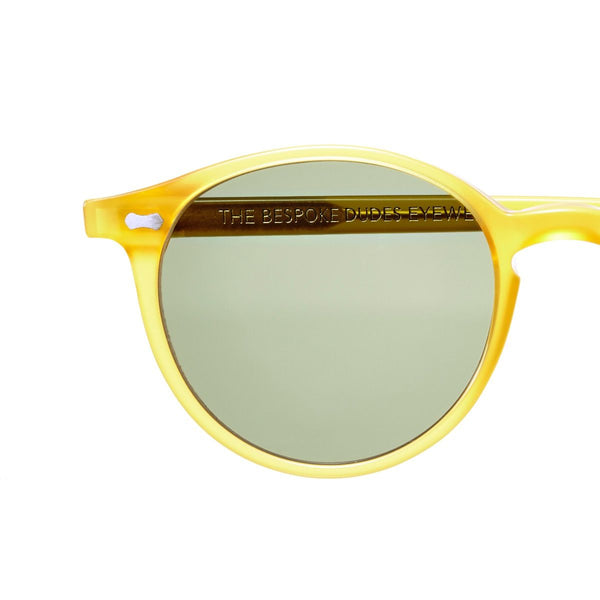 Cran Honey Acetate Sunglasses with Bottle Green Lenses Accessories Not specified