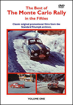 The Best of Monte Carlo Rally in the 50's DVD (HMFDVD5007)