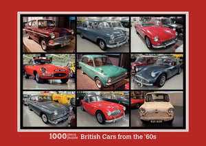 British Cars of the '60s 1000 Piece Jigsaw Puzzle