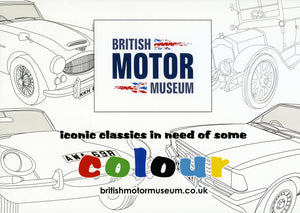 British Motor Museum Colouring Book