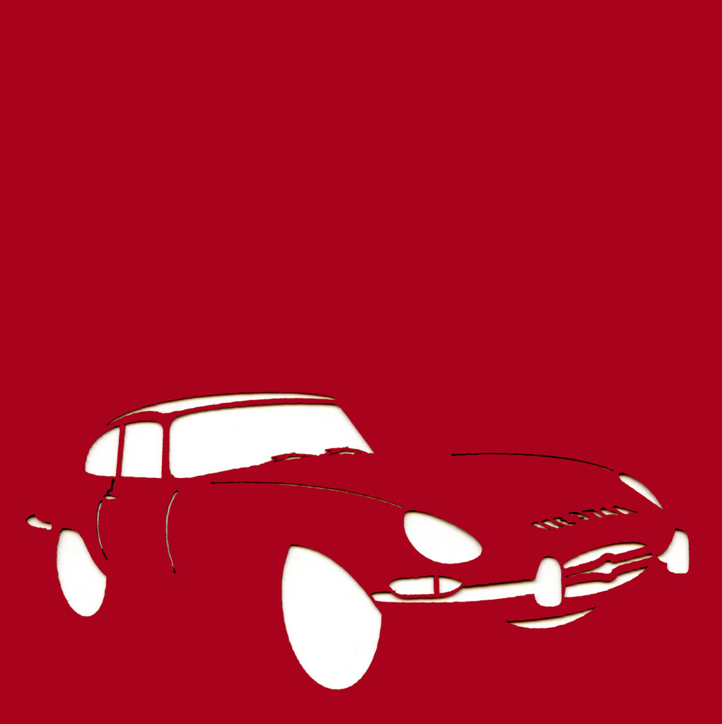 Jaguar E-Type Greetings Card