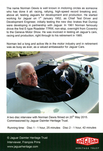 Norman Dewis - A Tribute