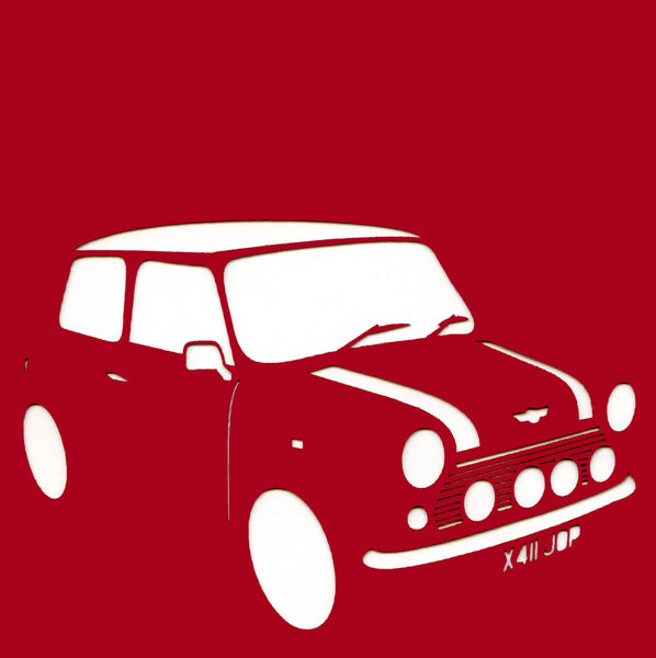 Last Mini Cooper 2000 Greetings Card
