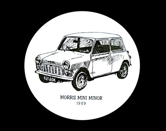 Morris Mini-Minor 1959 Coaster