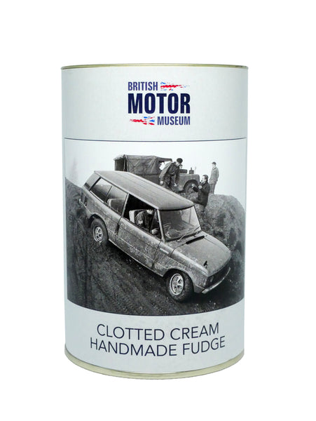 British Motor Museum Clotted Cream Handmade Fudge 150g