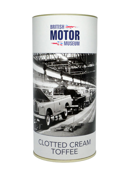 British Motor Museum Clotted Cream Toffee 200g