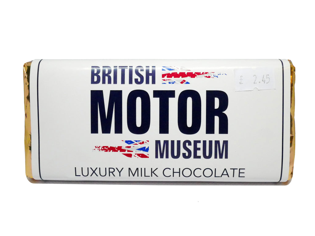 British Motor Museum Luxury Milk Chocolate 100g