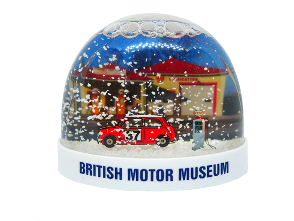 British Motor Museum Snow Dome
