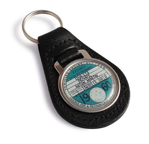Tax Disc Key Fob