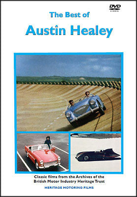 The Best of Austin Healey DVD  (HMFDVD5018)