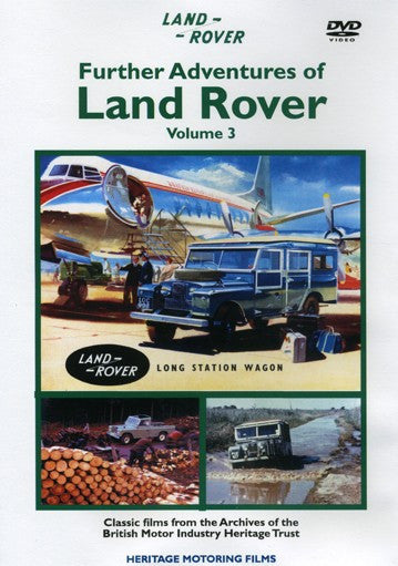 Further Adventures of Land Rover 3 DVD  (HMFDVD5021)