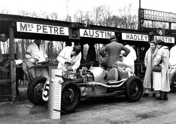 Austin Seven Single-Seater Racer at Donington 1937