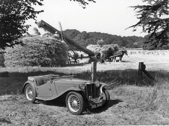 MG TC Midget 1946