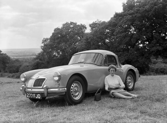 MGA Twin Cam Coupe 1959
