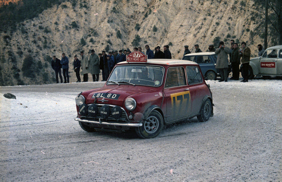 Mini Cooper S Monte Carlo Rally 1967 2