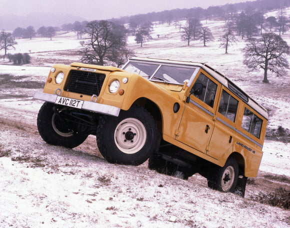 Land Rover V8 Station Wagon 1981