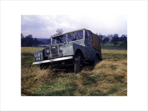 First Pre-Production Land Rover HUE 1948
