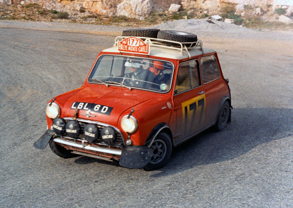 Mini Cooper S Monte Carlo Rally 1967 1