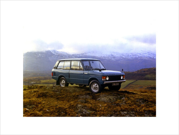 First Production Range Rover Number One 1970