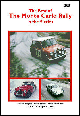 The Best of Monte Carlo Rally in the Sixties DVD  (HMFDVD5013)