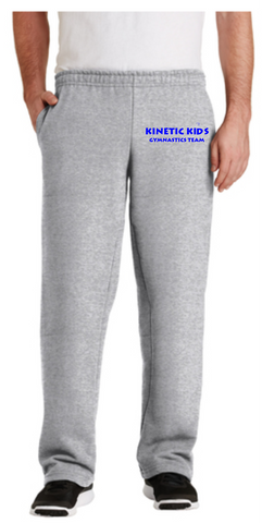 Kinetic Kids Adult Open Bottom Sweatpants