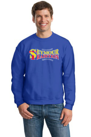 Seymour Tradition Royal Unisex Crewneck Sweatshirt