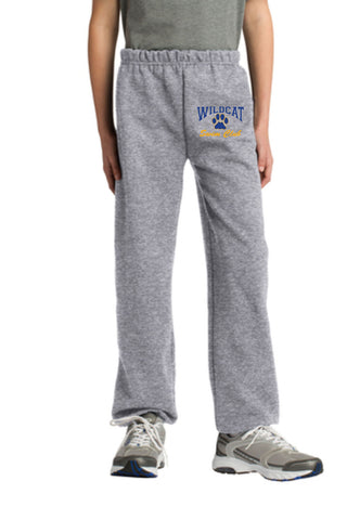 Wildcat Swim Club Youth Closed Bottom Sweatpant