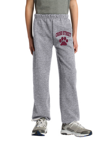 Cross Street Closed Bottom Sweatpant
