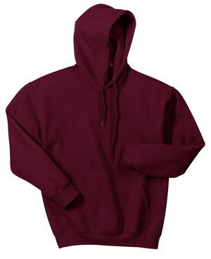 Naugatuck Thunderfish Maroon Youth Hooded Sweatshirt