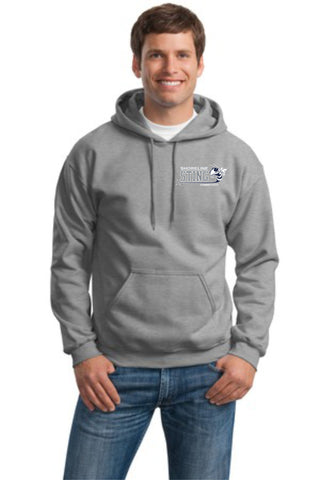 Shoreline Sting Cotton Blend Embroidered Hoodie