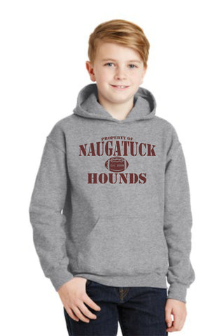 Naugatuck Hounds property of Cotton Blended Sweatshirt