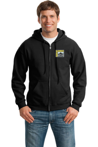 Cosplay Comics 50/50 Unisex Full Zip Hooded Sweatshirt