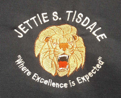 Jettie S. Tisdale 50/50 Unisex Full Zip Hooded Sweatshirt