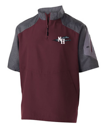 Naugy Hounds Baseball Pullover Jacket