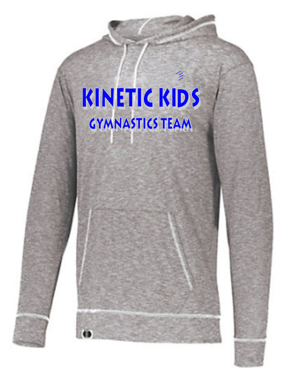 Kinetic Kids Holloway Unisex Silver Grey Journey Hoodie