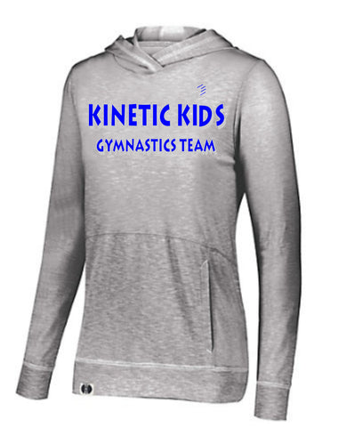 Kinetic Kids Holloway Ladies Silver Grey Journey Hoodie
