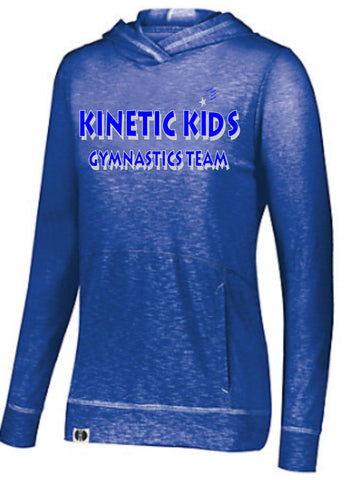 Kinetic Kids Holloway Ladies Royal Blue Journey Hoodie