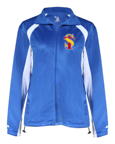 Seymour Tradition Ladies Polyester Warm-up Jacket