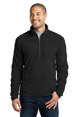 Jettie S. Tisdale Men's 1/4 Zip Microfleece