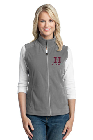 Hillside Ladies Microfleece Vest