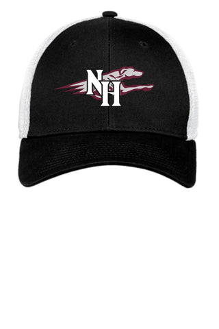 Naugy Hounds Baseball New Era Stretch Mesh Cap