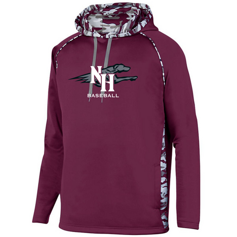 Naugy Hounds Baseball Camo Performance Hoodie