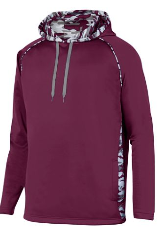 Naugatuck Travel Baseball YOUTH Camo Wick Hoodie