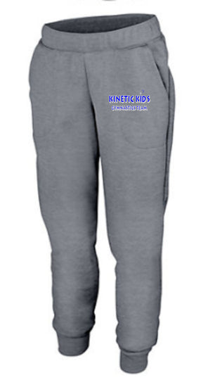 Kinetic Kids Ladies Holloway Tonal Heather Fleece Jogger