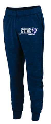 Shoreline Sting Adult  Ladies Tonal Heather Fleece Jogger