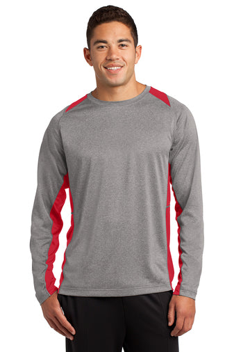 Nonnewaug Wrestling Longsleeve Colorblock Wicking shirt