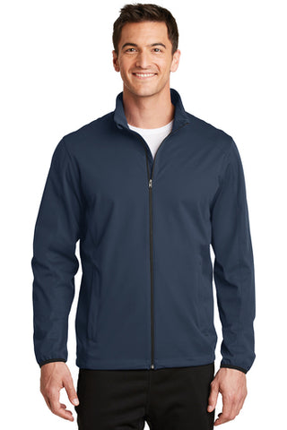 Jettie S. Tisdale Men's Soft Shell Jacket
